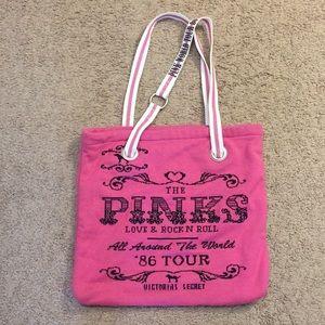 """Victoria's Secret PINK Tote Bag 16""""x14.5"""" GUC"""